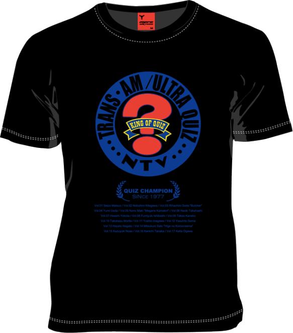 MARS16×QUIZ JAPAN共同開発!「知力、体力、時の運」を試す「アメリカ横断ウルトラクイズ」Tシャツが登場!