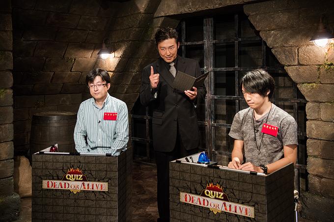 日本初のインターネット・クイズ番組「QUIZ DEAD OR ALIVE」を配信開始!