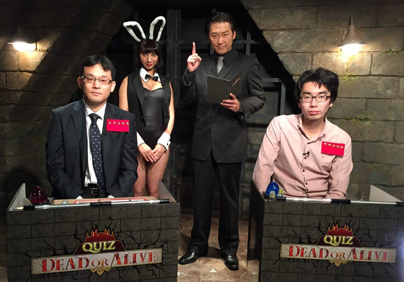 QUIZ JAPAN TVのオリジナルクイズ番組「QUIZ DEAD OR ALIVE」がまさかの復活!