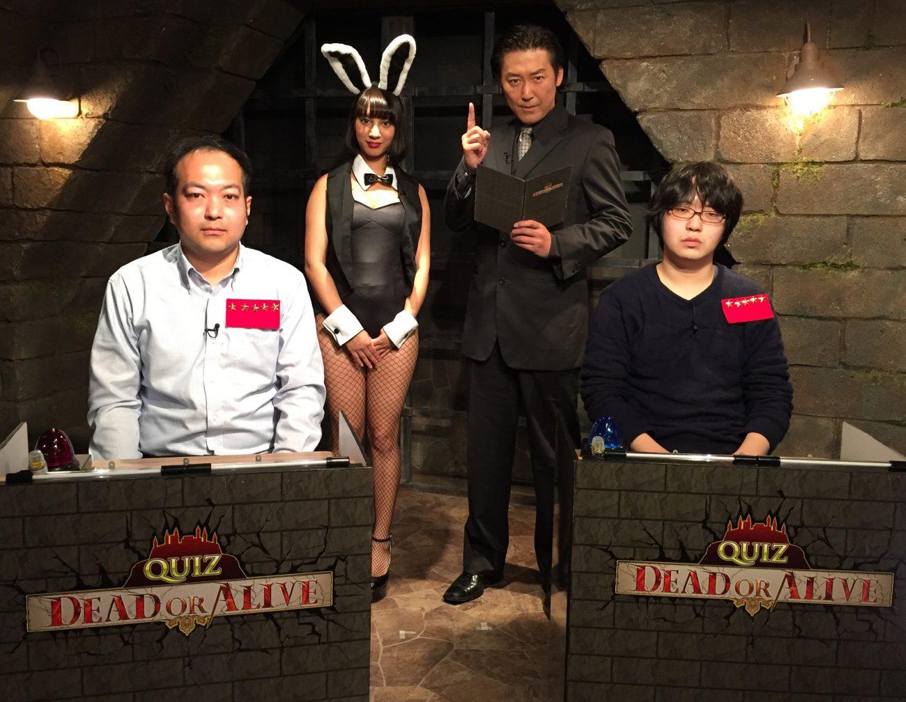 QUIZ JAPAN TVのオリジナルクイズ番組「QUIZ DEAD OR ALIVE」#19は水島丈裕と武藤大貴が激突!