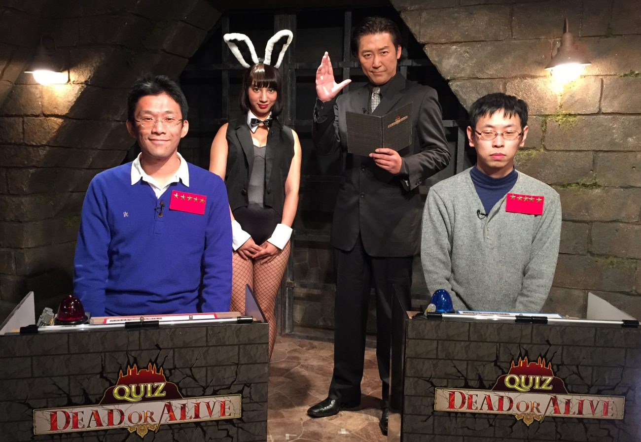 QUIZ JAPAN TVのオリジナルクイズ番組「QUIZ DEAD OR ALIVE」#20は松尾浩と山田晋也が激突!