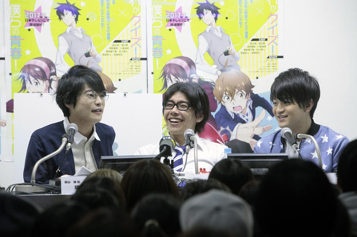 部活系青春クイズ漫画が遂にアニメ化!! AnimeJapan『ナナマル サンバツ』ステージレポート