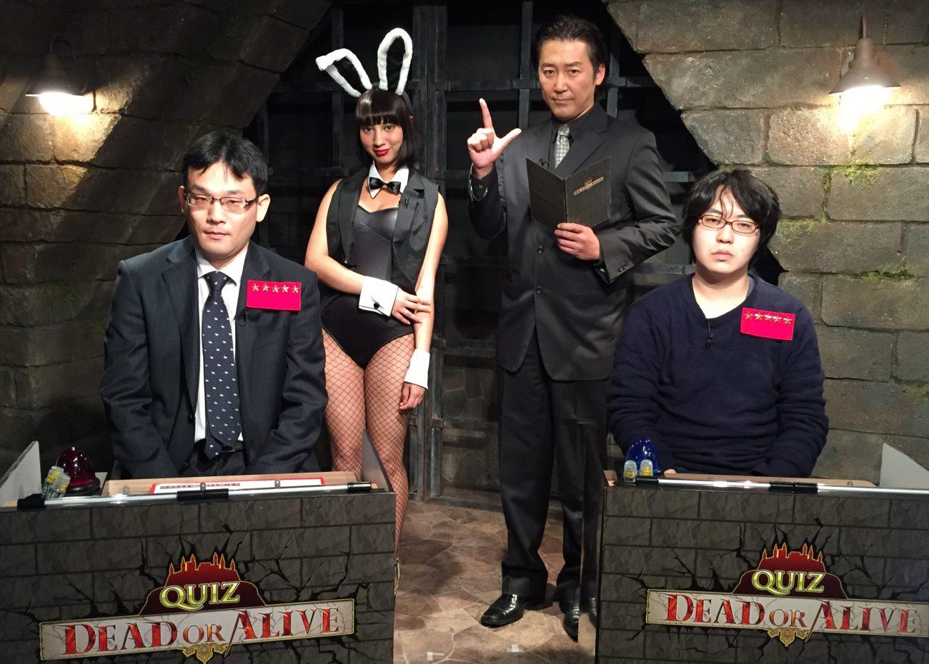 QUIZ JAPAN TVのオリジナルクイズ番組「QUIZ DEAD OR ALIVE」#22は安藤VS武藤の準決勝戦!