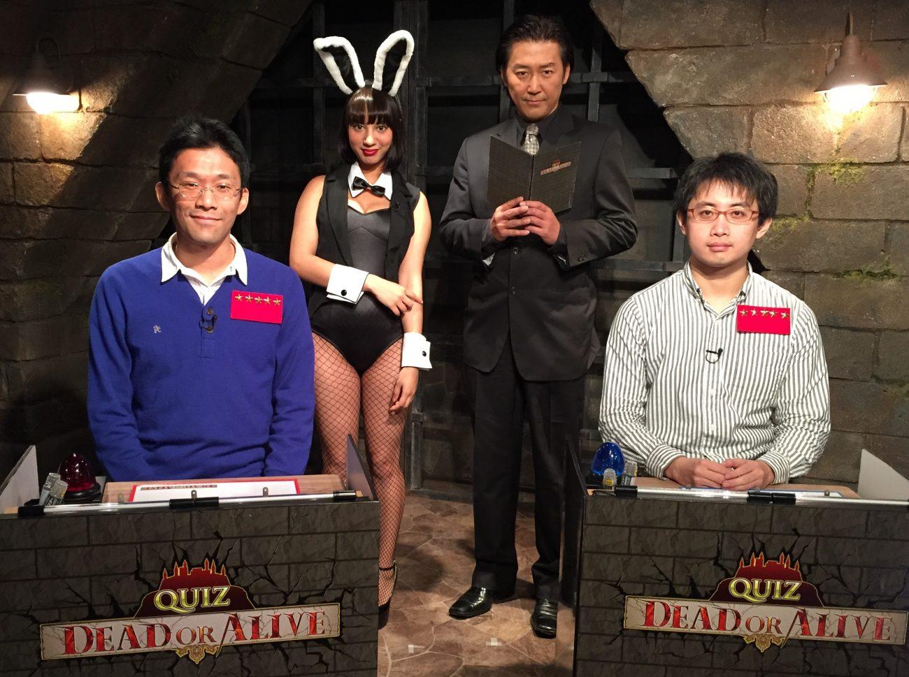 QUIZ JAPAN TVのオリジナルクイズ番組「QUIZ DEAD OR ALIVE」#23は松尾VS徳久の準決勝戦!