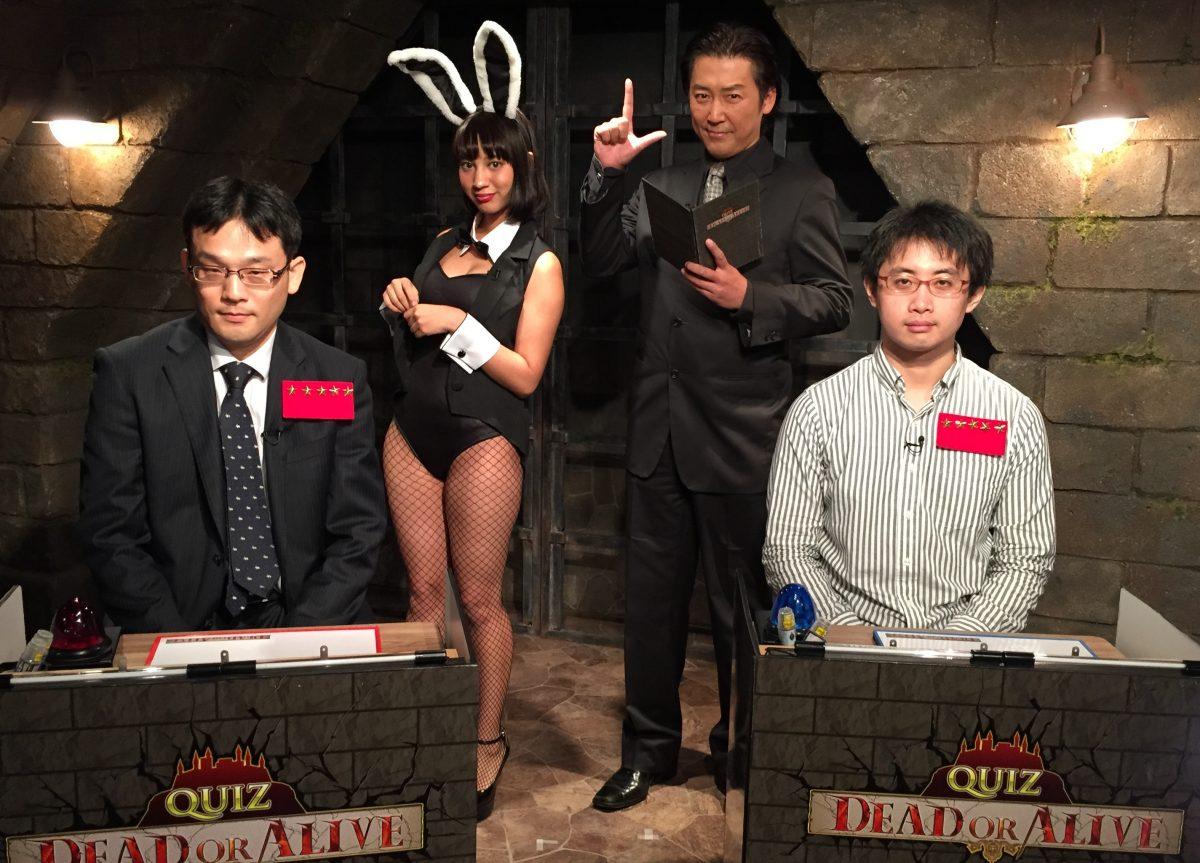 QUIZ JAPAN TVのオリジナルクイズ番組「QUIZ DEAD OR ALIVE」地下迷宮トーナメント、いよいよ決勝戦!