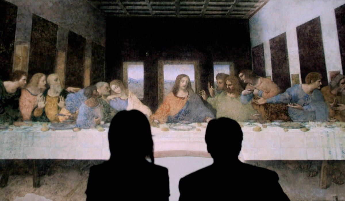 意外!! レオナルド・ダ・ヴィンチが食堂に描いたアノ傑作とは?