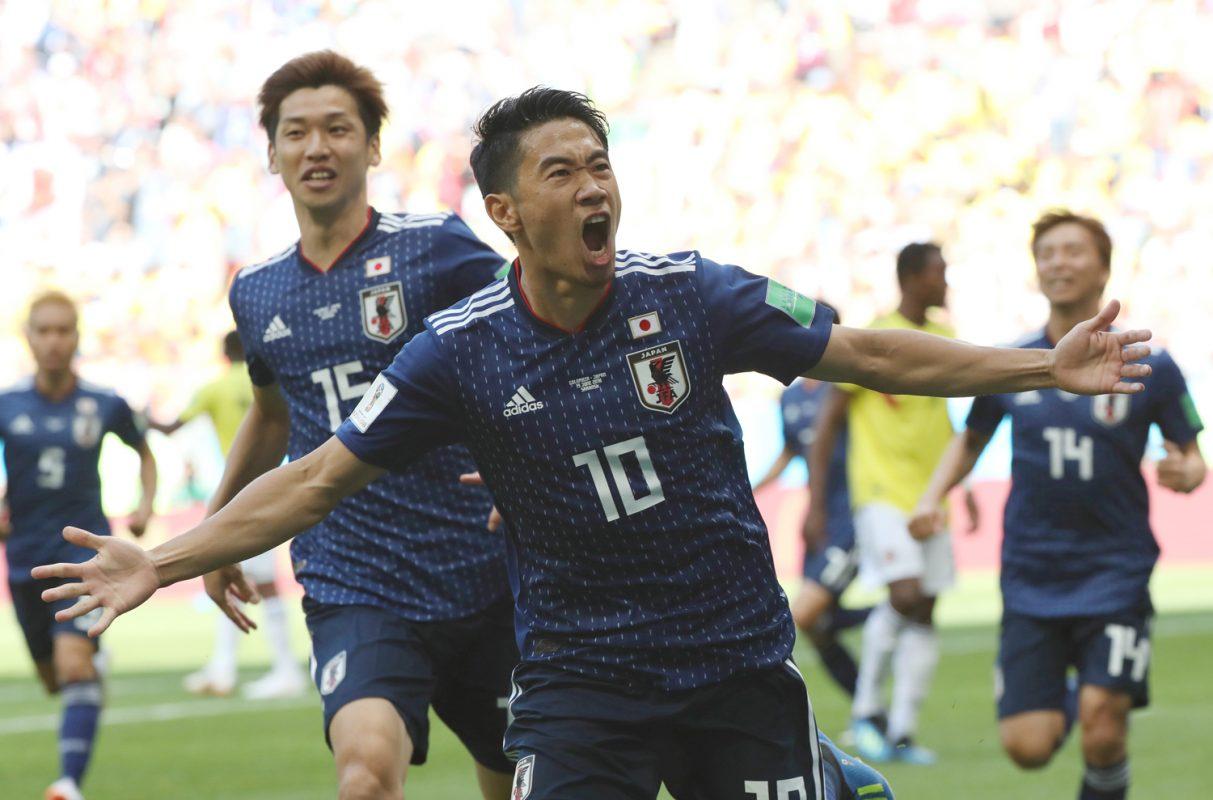 香川真司がロシア大会初ゴール! …ところで過去のW杯で1点目をゲットした選手って?