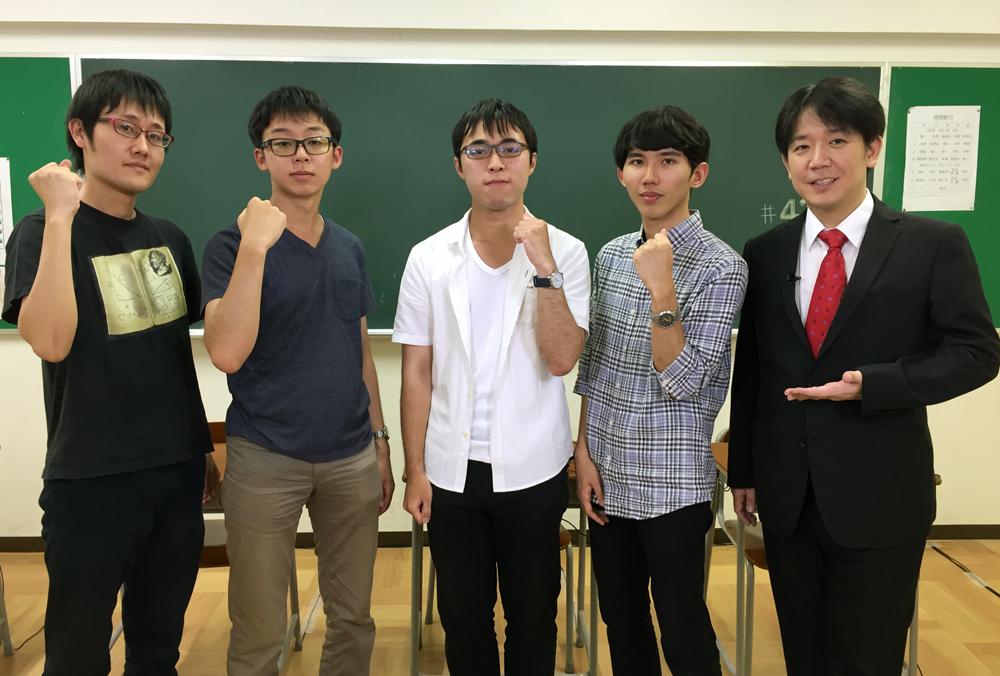QUIZ JAPAN TVのオリジナルクイズ番組「魁!!クイズ塾」第41回は「大学生大会」!
