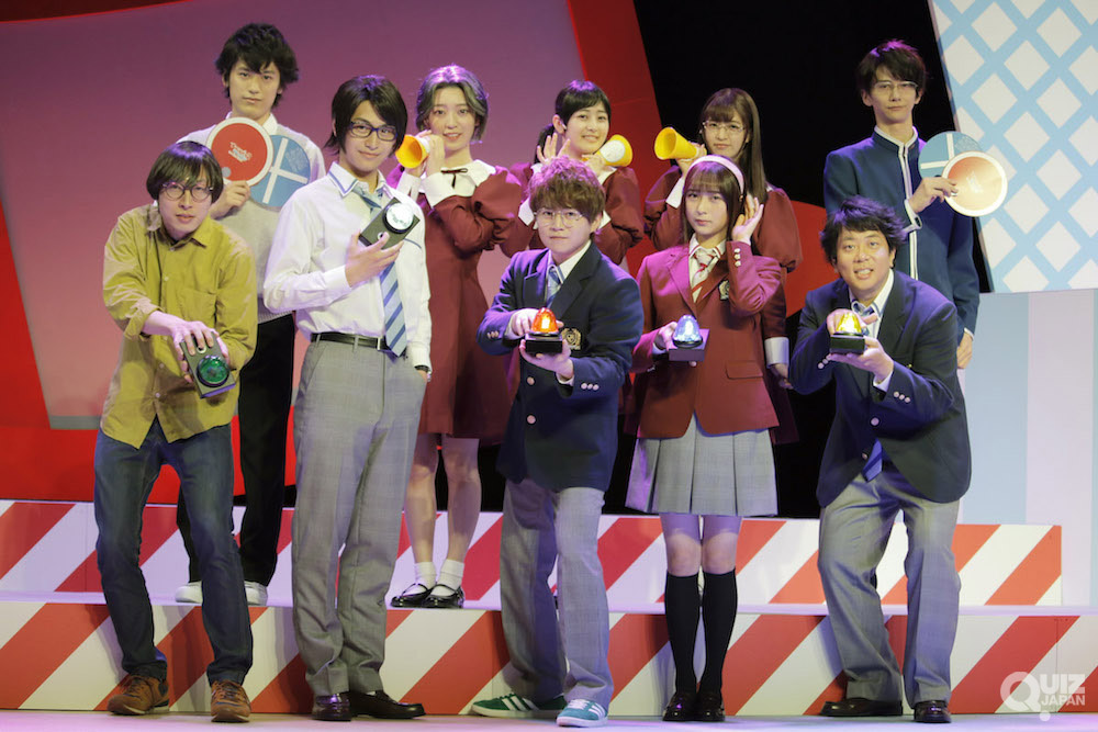 舞台『ナナマル サンバツ THE QUIZ STAGE ROUND2』が開幕! 会見&ゲネプロレポート