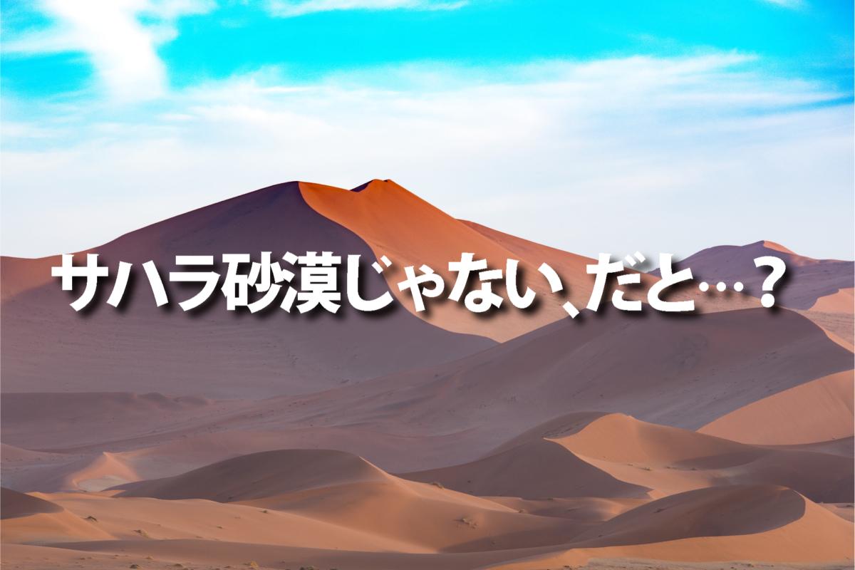 一問一報/砂漠