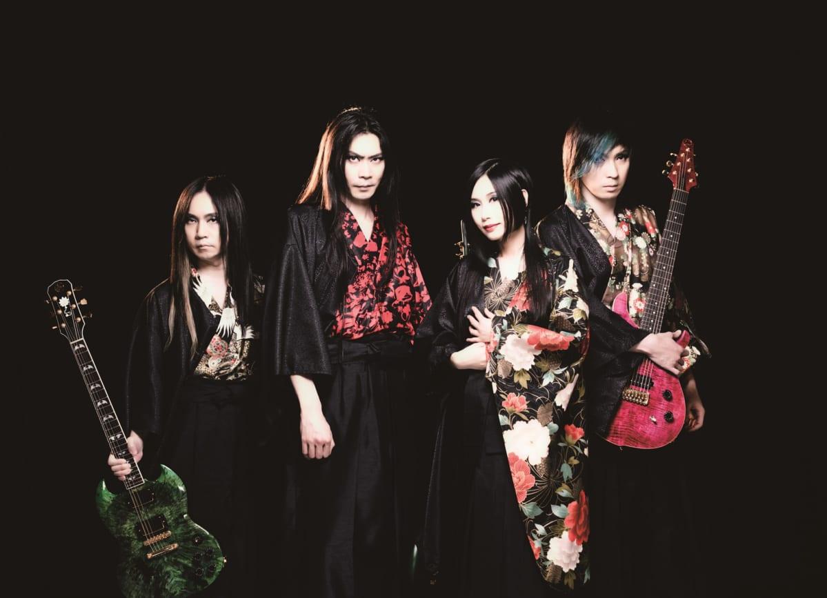 ヘヴィメタルバンド陰陽座が新曲でコラボした100年以上の歴史がある日本のブランド商品とは?