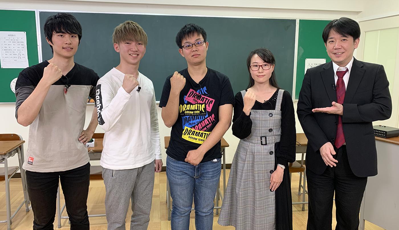 QUIZ JAPAN TVのオリジナルクイズ番組「魁!!クイズ塾」第55回は「大学生大会」!