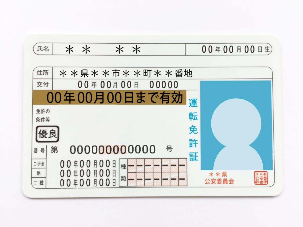 一問一報/運転免許証