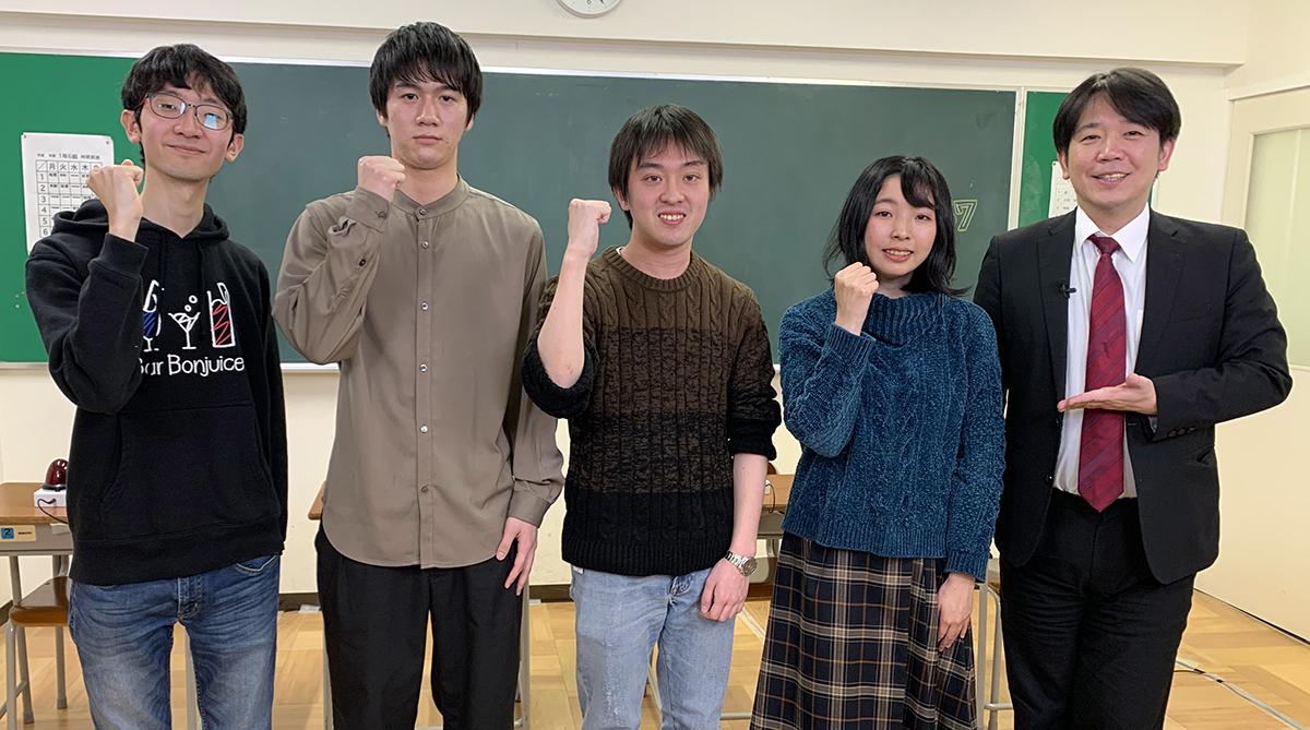 QUIZ JAPAN TVのオリジナルクイズ番組「魁!!クイズ塾」第57回は「大学生大会」!