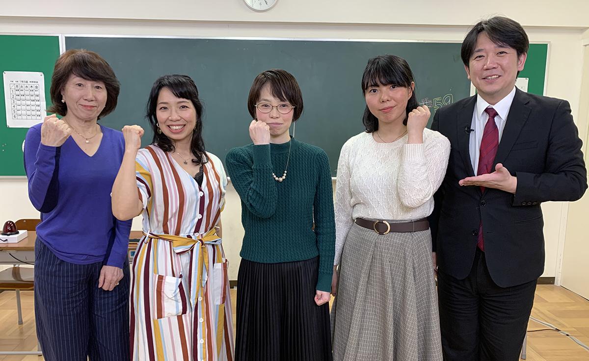 QUIZ JAPAN TVのオリジナルクイズ番組「魁!!クイズ塾」第59回は「女性大会」!
